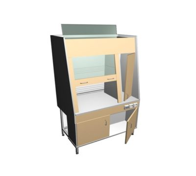 Шкаф сушильно-вытяжной ММ 098.01-Т1 с дверкой большой
