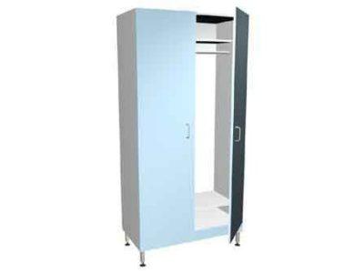 Шкаф для одежды 2-х секционный ММ 097.55.25
