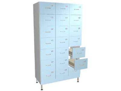 Шкаф для статистических талонов на 21 ящик ММ 097.46.02-01