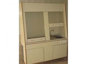 Шкаф вытяжной на 2 рабочих места
